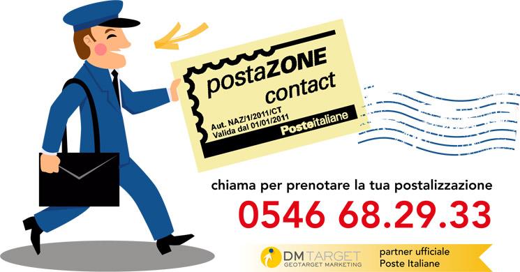 consegna esclusiva da parte di portalettere di Poste Italiane